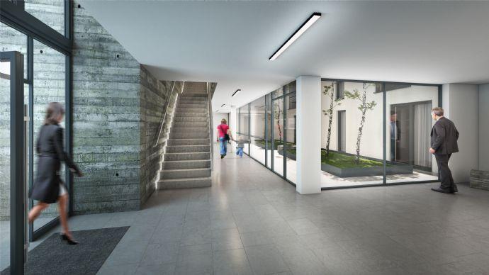 Impressionen Treppenhaus mit Lichthof