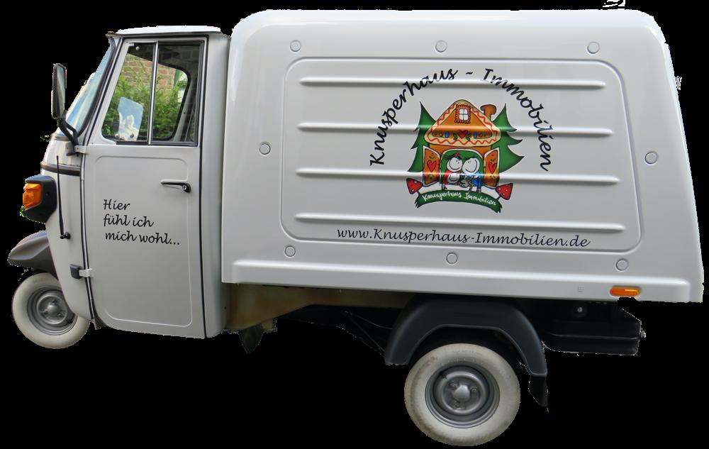 Knusperhaus Immobilien Mini Van